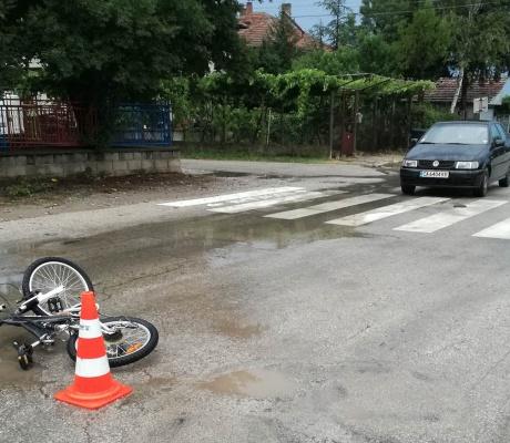 Блъснато дете с колело в Първомайци /СНИМКИ/