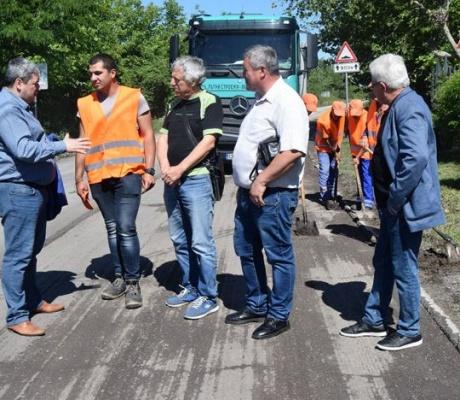 Започна цялостен ремонт на път ІІ-53 в участъка Поликраище - Първомайци – Горна Оряховица