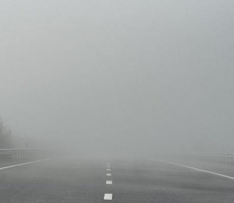 Северна България потъна в гъста мъгла (ВИДЕО)