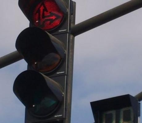 Пускат светофара на ул. Родопи в Горна