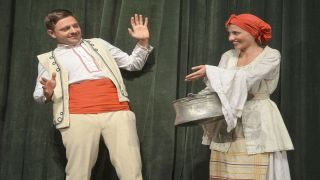 """Героите на Елин Пелин от """"Гераците""""  оживяват на сцената на великотърновския театър"""